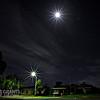 Moon rise on a Sunday night ...
