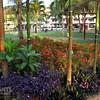 Gardens at the Serai di Lanjut resort in Rompin, East coast of Malaysia.