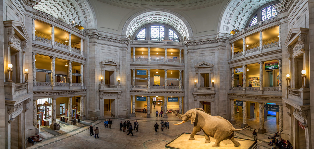 2-17-2016 Natural History Museum Lobby Pano SM