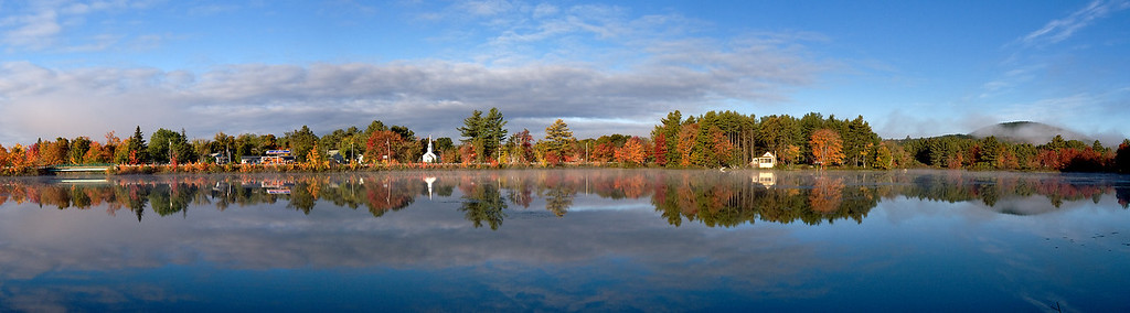 Marlow, New Hampshire<br /> 36x10 4 frames