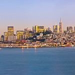 Left Half San-Francisco-Dusk-Panorama-triptych
