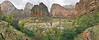 Panorama at Big Bend,<br /> Zion National Park, Utah