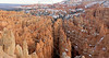 Panorama - Sandstone Hoodoos,Twilight,<br /> Bryce Canyon National Park, Utah