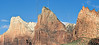 Court of the Patriarchs Peaks<br /> Zion National Park, Utah