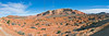 """Panorama - Along the Trail to """"The Wave""""<br /> Paria Canyon-Vermilion Cliffs Wilderness, Utah, Arizona"""