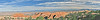 Panorama - on Devil's Garden Trail,<br /> Arches National Park, Utah