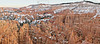 Panorama - Sandstone Hoodoos, Twilight,<br /> Bryce Canyon National Park, Utah