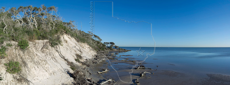 Ancient Dunes by San Antonio Bay, Aransas National Wildlife Refuge, Texas