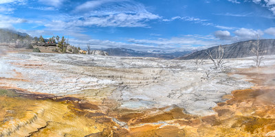 Yellowstone Upper Terraces Area