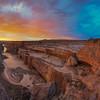 Grand Falls Sunset Magic