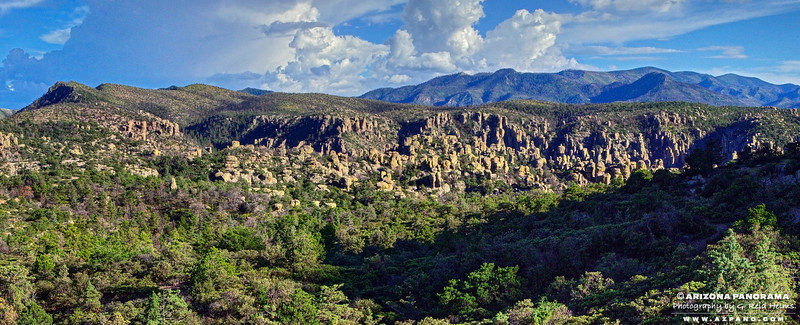 Chiricahua Monument from Sugarloaf Mountain