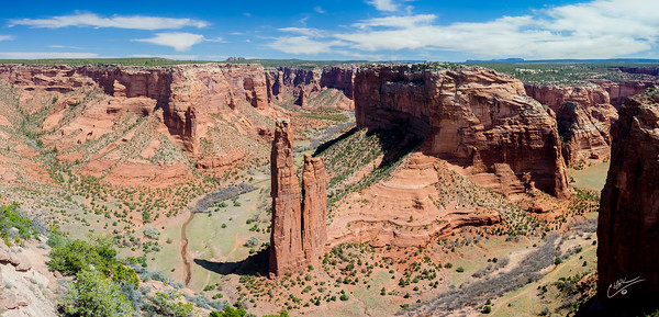 Canyon De Chelly Overlook Pano