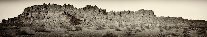 Valley Of Fire Nevada - Outcrop2 Antique Plate Sepia