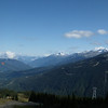 Whistler Blackcomb Peak to Peak Gondola panorama.