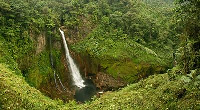 pan51: Catarata del Toro, central highlands, Costa Rica