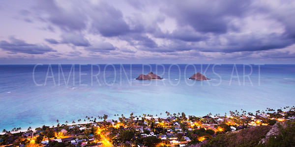 Lanikai ~ Evening