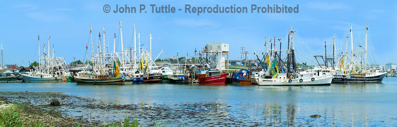 Cape May New Jersey Fishing Fleet