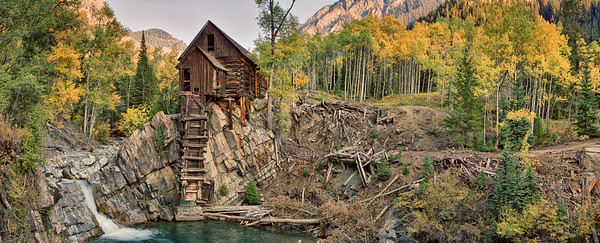 Crystal Mill, Marble, CO, autumn