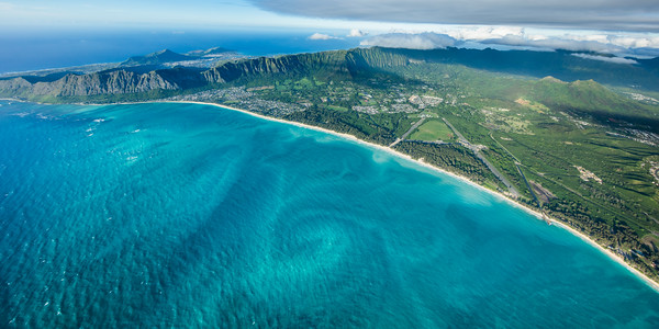 Swirling Sands of Waimanalo (with Hawaii Kai)