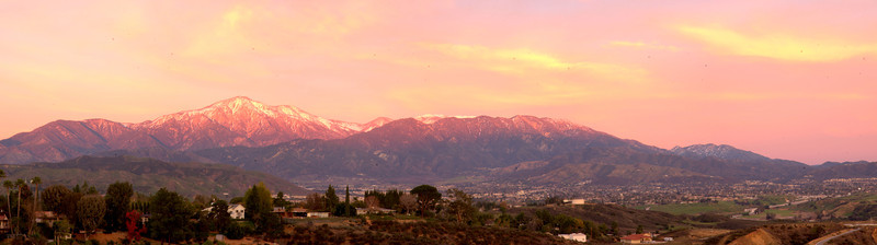 Redlands Sunset