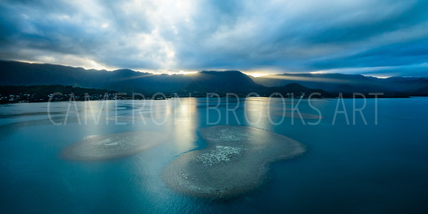 Sandbar Reef Sunset