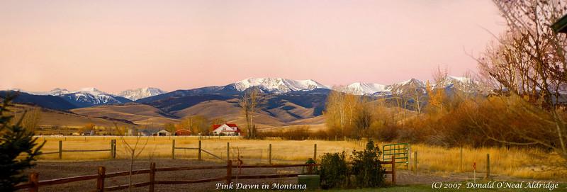 Ranch near Pony, Montana