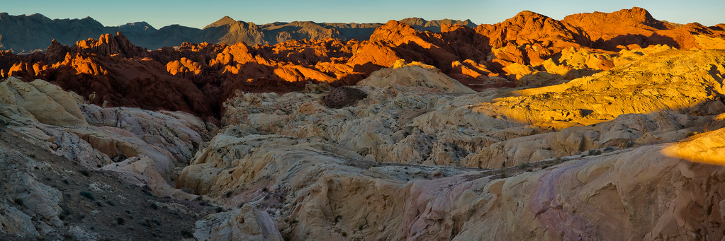 Sunrise at Fire Canyon, Valley of Fire State Park, Nevada