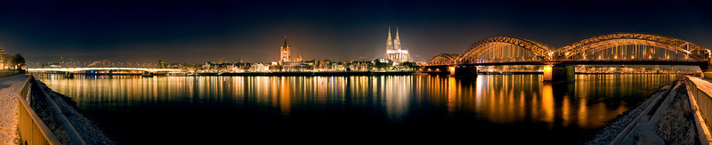 Cologne, Germany at Night