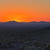Sunset from Kofa