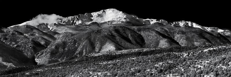 Pikes Peak intimate View