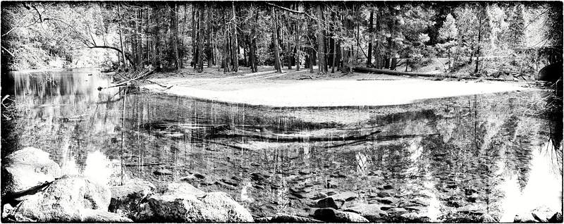 Yosemite Valley - Riverbend Reflections