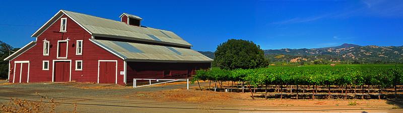 Sonoma California Red Barn