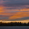 Midnight sunset at Gustavus - Alaska
