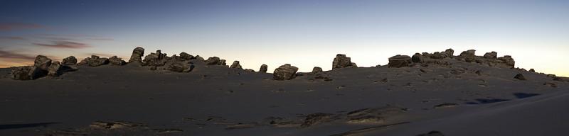 Rock formations near Stonehenge, Rock and Pillar Range