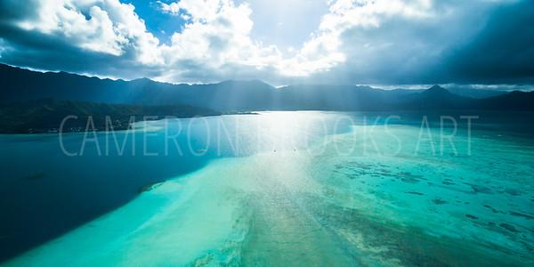 Kaneohe Sandbar Afternoon