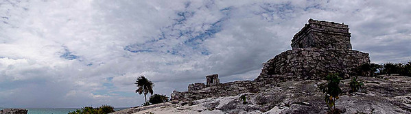 Tulum - The only Mayan city located on a coastline, and was principally a ceremonial center.