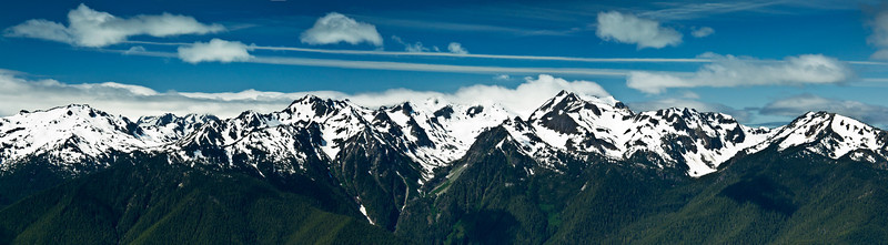 Olympic Range Panorama, Olympic NP