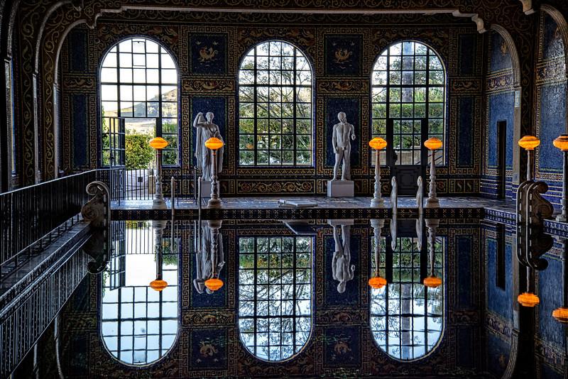 San Simeon California - Interior Pool Hearst Castle