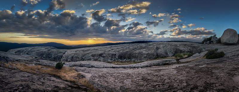 Bald Rock Panorama