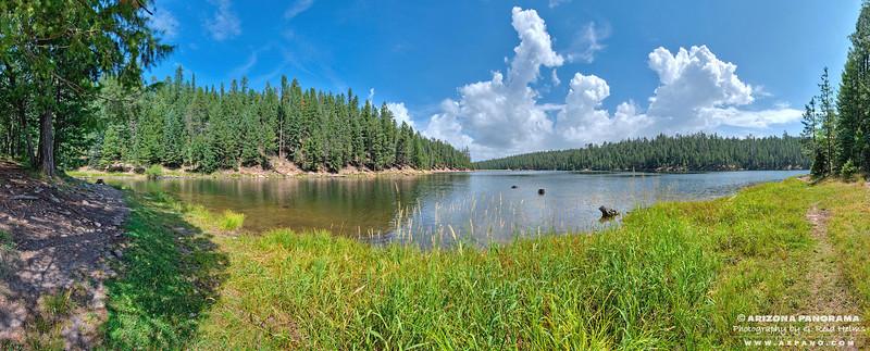 Bear Canyon Lake Summer Day