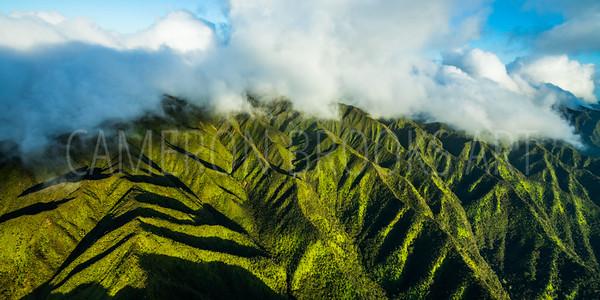 Ko'olau Mountain Ridges