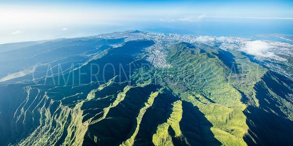 Pali Mountains 6,500 ft.
