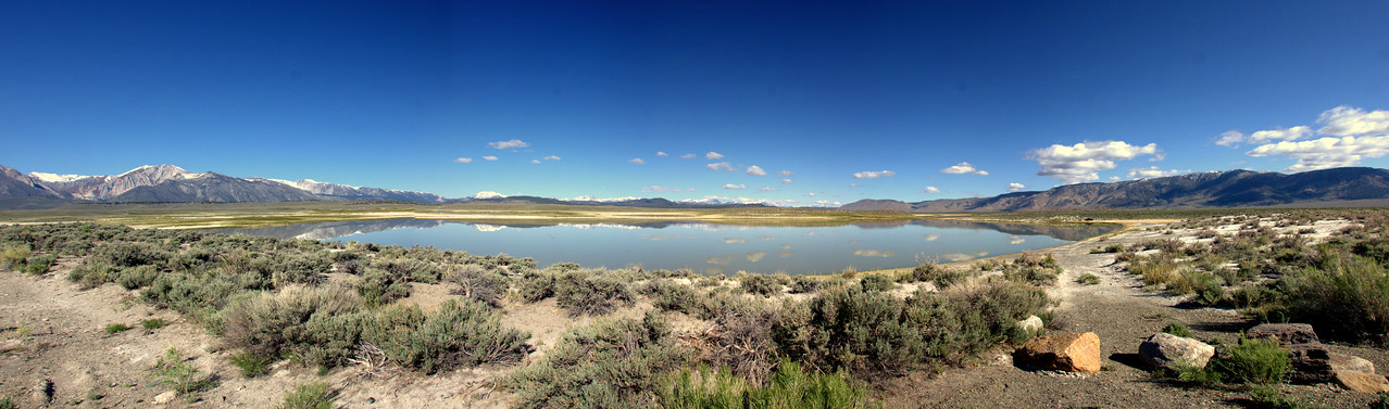 Big Alkalai Lake, Mammoth Lakes