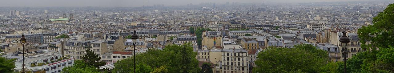 Paris Sacre Coeur view