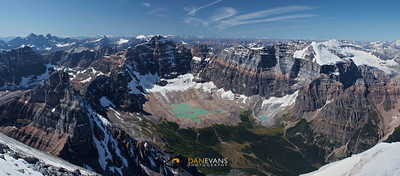 Paradise Valley - the view from the summit of Temple Mountain