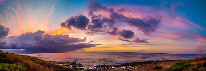 Kaena Point Sunset 7.15.13