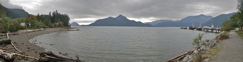 Porteau Cove Provincial Park bay.