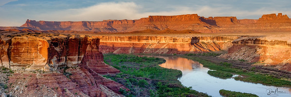 Green River from White Rim Trail