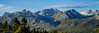 Mountain Peaks Near Mammoth Lakes