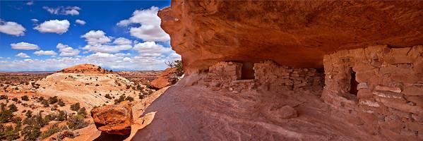 Ancestral Puebloan granaries, Canyonlands National Park